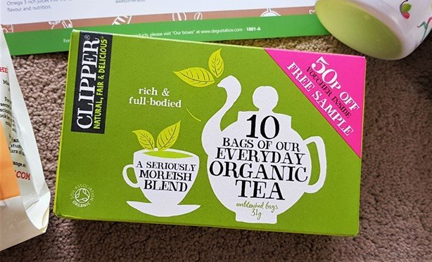Clipper – Everyday Organic Tea