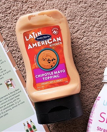 Latin American Kitchen by Santa Maria – Chipotle Mayo Topping