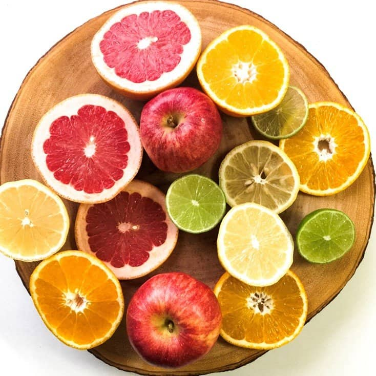 Eat well - selection of fruits for eyesight