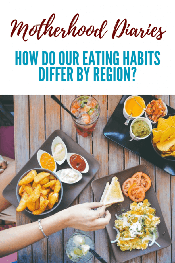 How do our eating habits differ by region