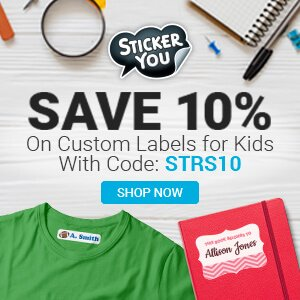 Stickeryou kids labels
