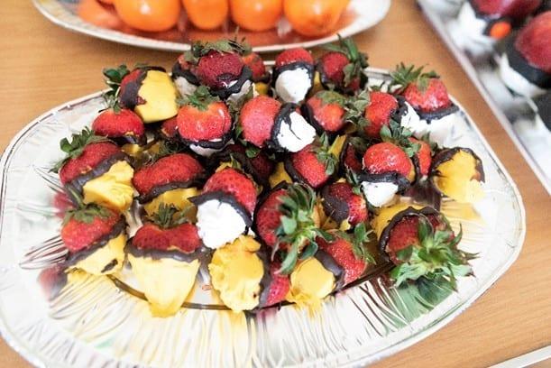 Pokemon candied strawberries