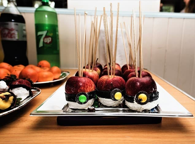 Pokemon candied apples