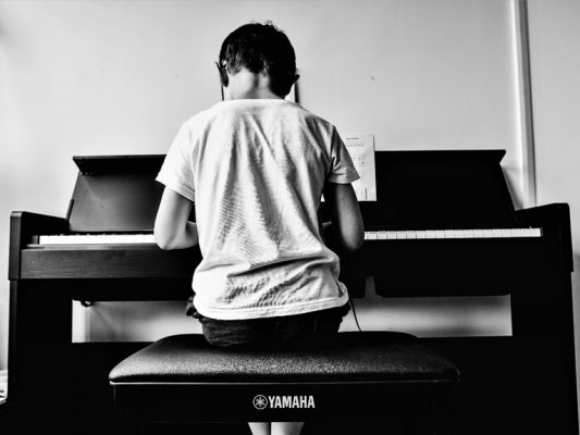 The benefits of children learning to play an instrument - Yamaha Arius Digital Piano