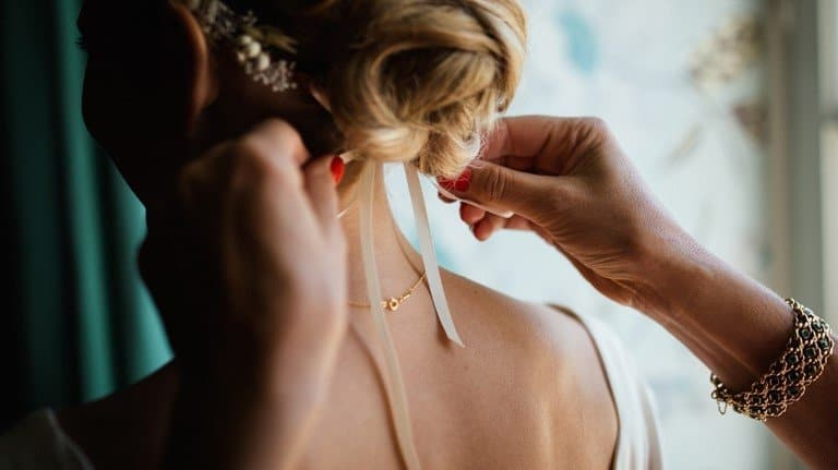 Hair, makeup and accessories - wedding