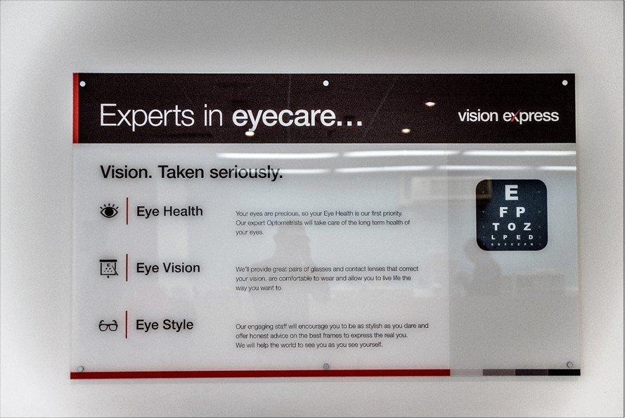 Vision express eye health