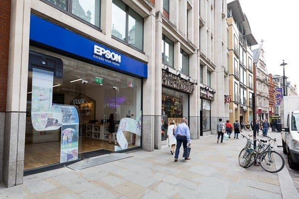 Epson EcoTank Pop-Up Covent Garden