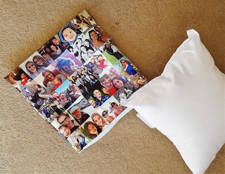 CanvasChamp 12 x 12 photo pillow
