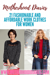 21 Fashionable and Affordable Work Clothes for Women