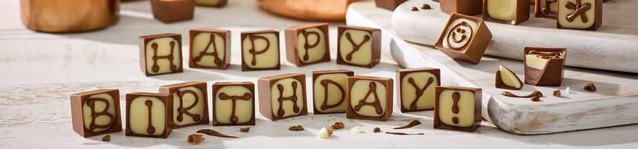 Happy birthday Thornton truffles