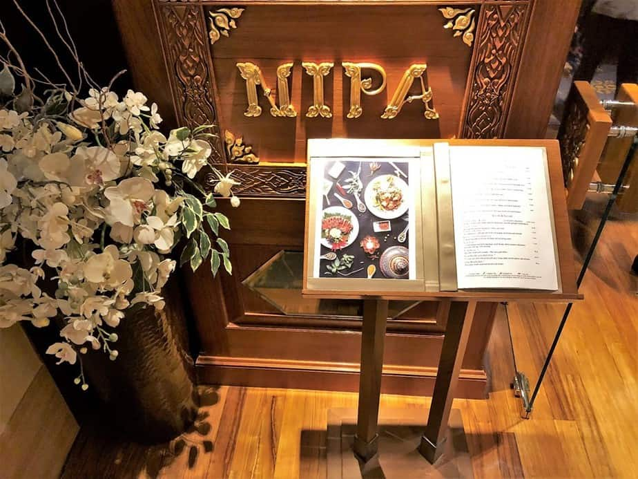 Nipa Thai restaurant Royal Lancaster London Hotel