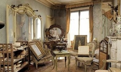 Paris apartment forgotten about for 70 years