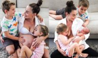 Irina and 3 kids