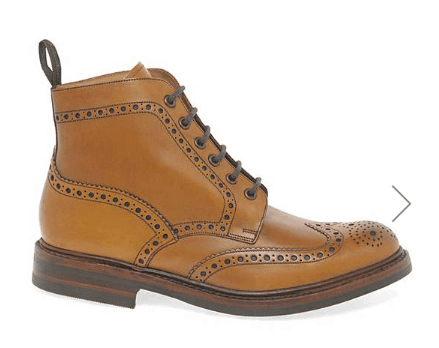 Loake Bedale Men's Brogue Boots from Jacamo