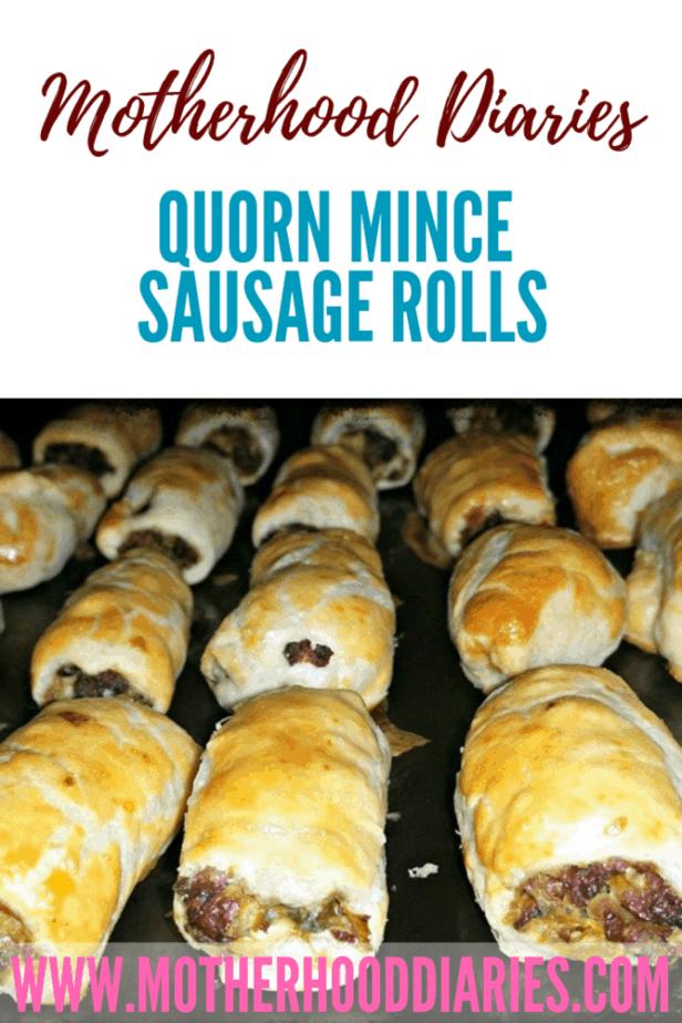 Quorn mince sausage rolls #vegetarian #quickrecipes #simplerecipes #snacks