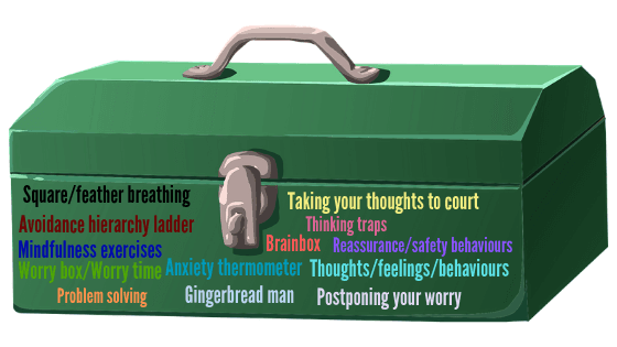 Toolbox of remedies to help reduce anxiety in you and your children