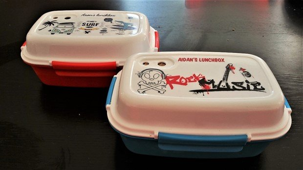 Petit-Fernand personalised lunchboxes