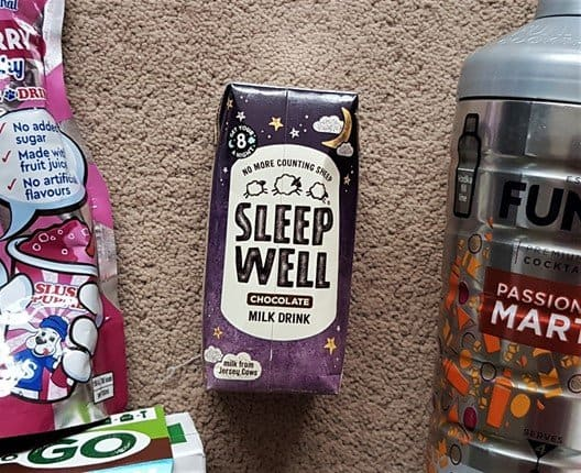Sleep Well Chocolate Milk - December 2018 Degustabox Review