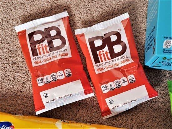 PBfit Peanut Butter Powder - £0.75 - January 2019 Degustabox Review