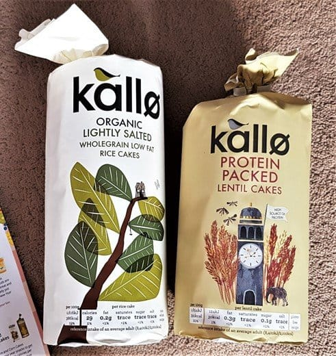 Kallo Corn Cakes & Lightly Salted Organic Rice Cakes - £1.30 - January 2019 Degustabox Review