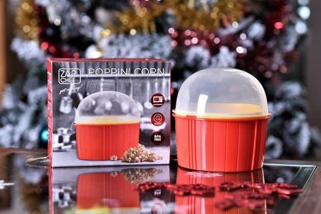 JML Poppin' Corn Microwave Popcorn Maker