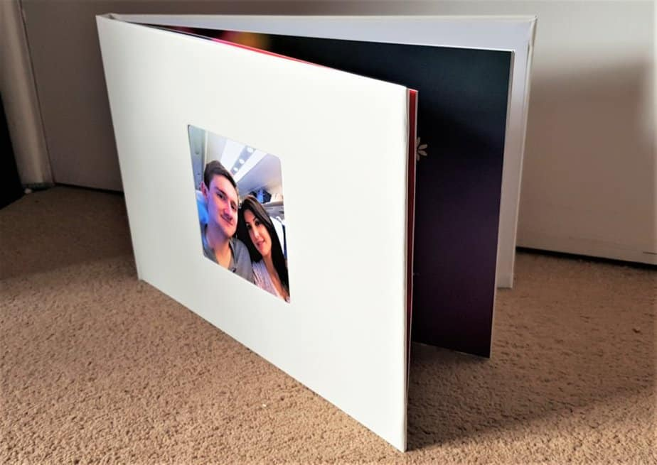 Luxury Exclusive A4 photo book with White cover by Colorland.com/uk