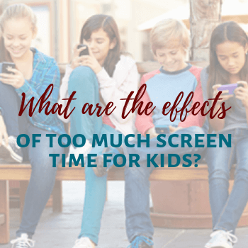 What are the effects of too much screen time for kids sidebar widget