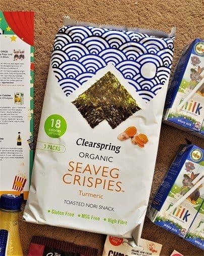Clearspring – Organic Seaveg Crispies Turmeric Multi-pack - £2.59