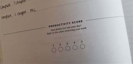 Productivity score - Effici planner