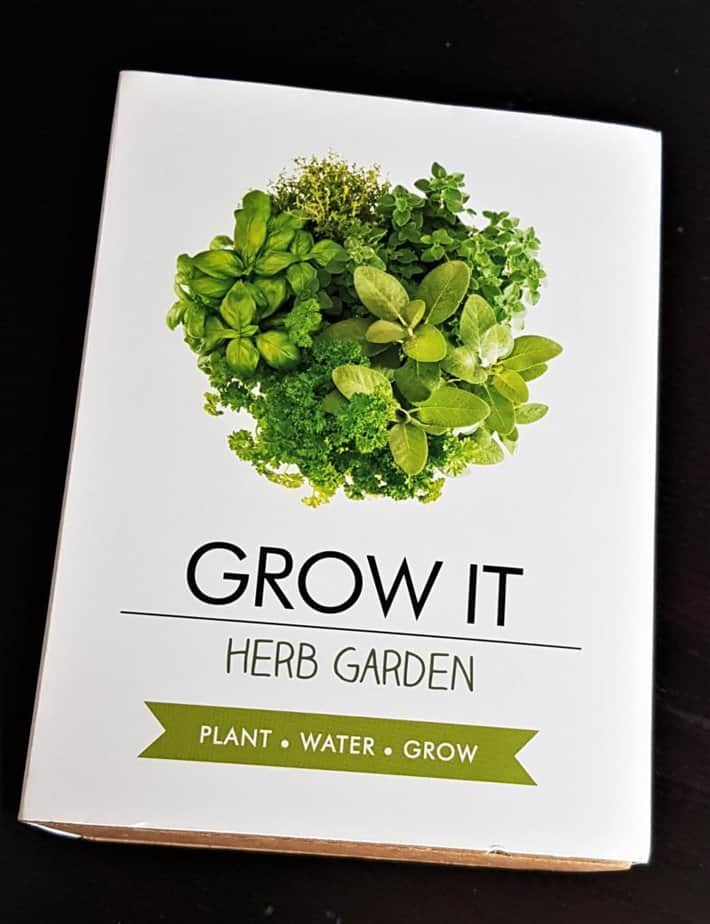 Grow it Herb Garden from The Gift experience