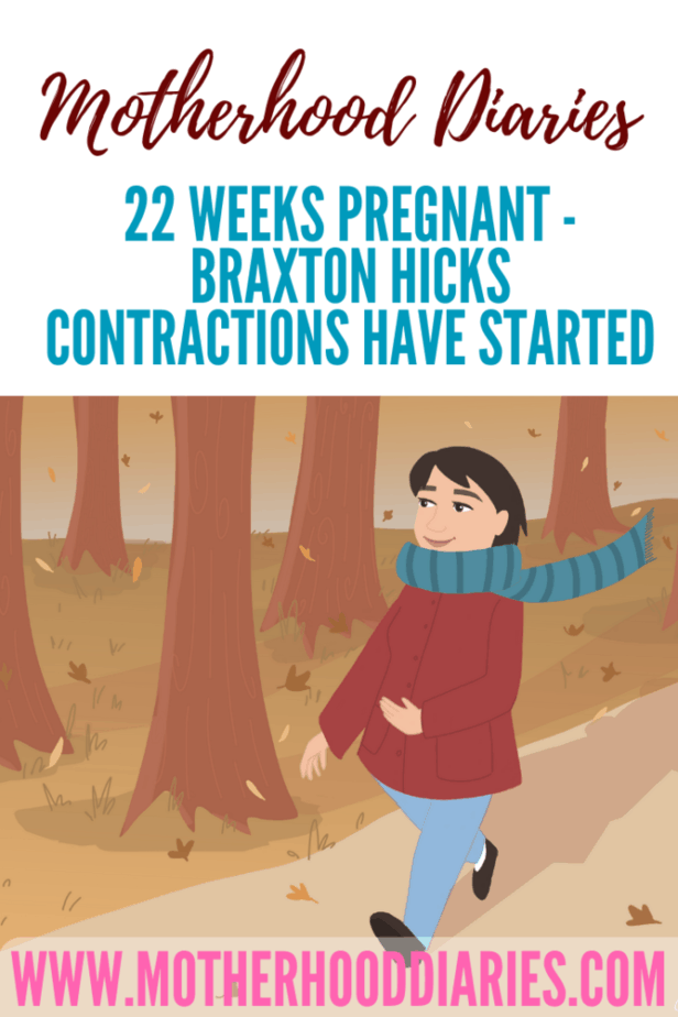 22 weeks pregnant - Braxton Hicks contractions have started