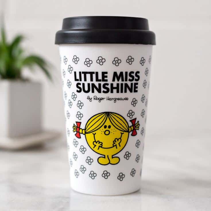 Little Miss Sunshine takeaway coffee from The Gift Experience