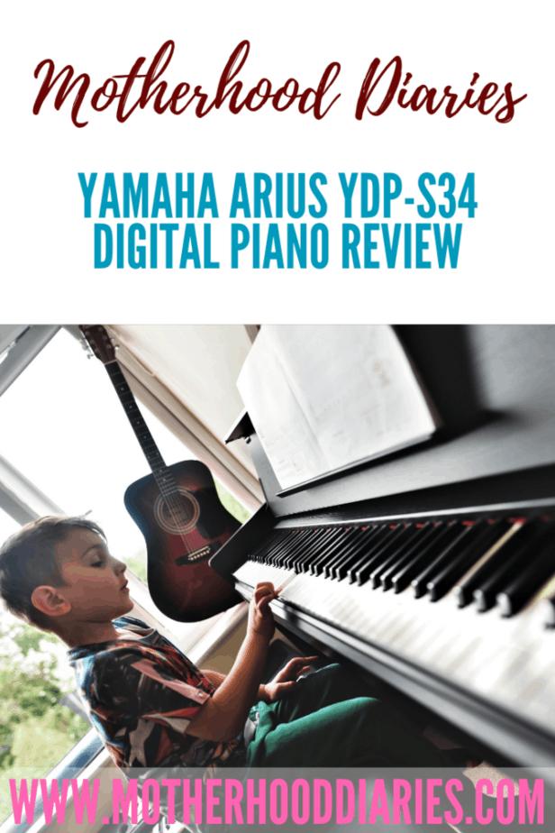 Yamaha Arius YDP-S34 digital piano review