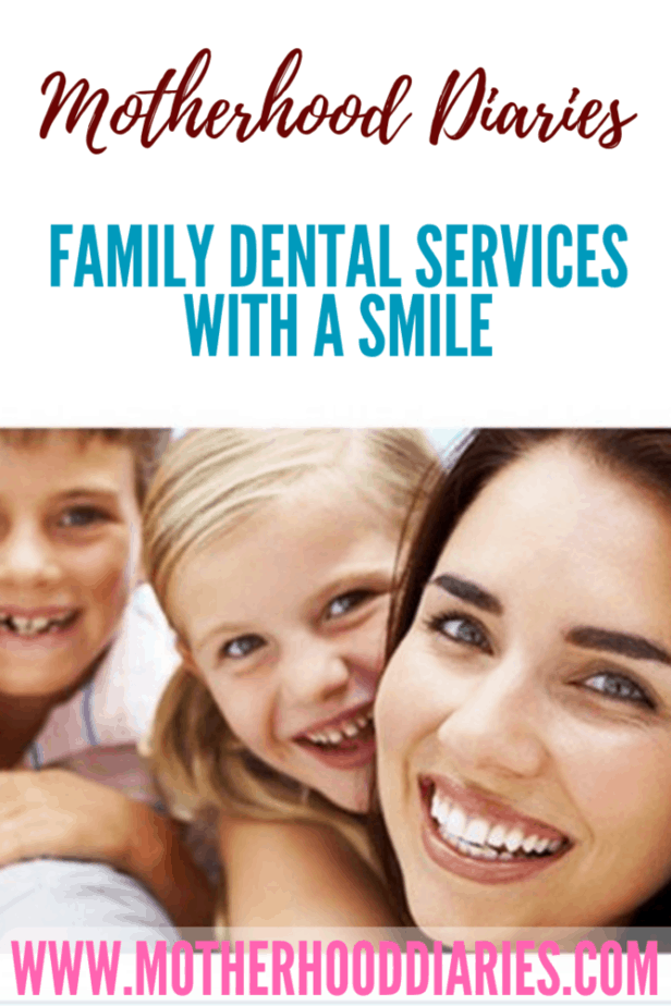 Family dental services with a smile
