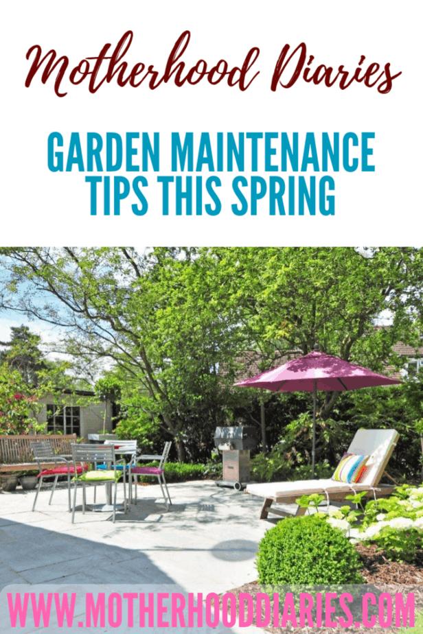 Garden maintenance tips this spring