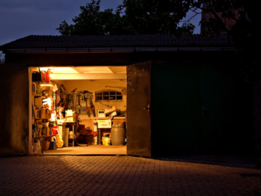How to clean out your garage and make your home look bigger