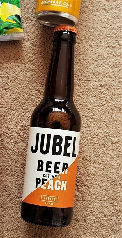 Jubel Alpine Beer Cut with Peach