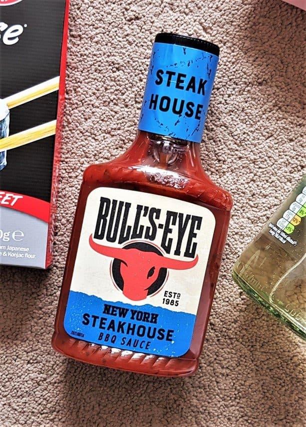 Bull's-Eye Steakhouse Barbecue Sauce - £2.49