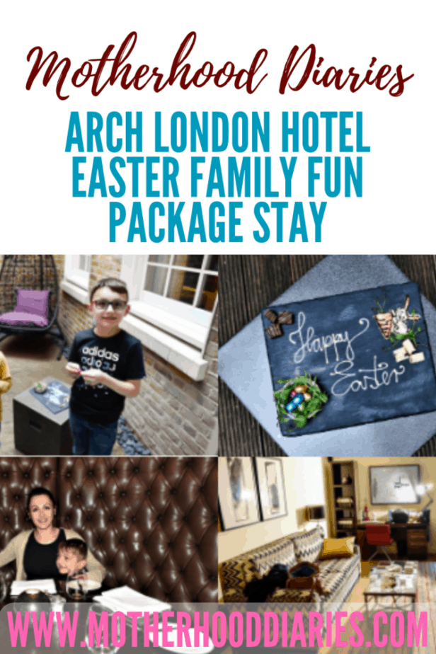 The Arch London Hotel Easter Family Fun Package Stay - motherhooddiaries.com