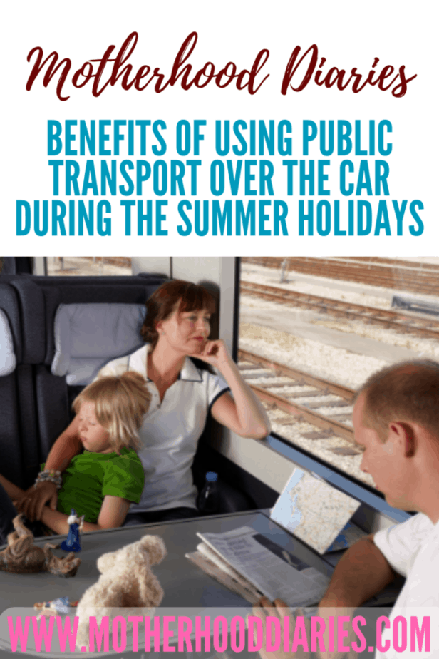 Benefits of using public transport over the car during the summer holidays