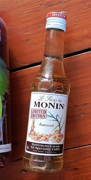 MONIN Butterscotch Coffee Syrup - £3