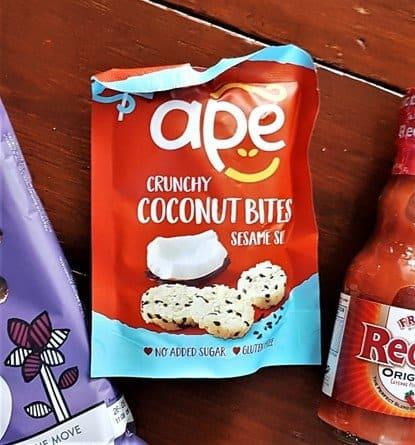 Ape Snacks Coconut Bites Sesame Seed - £1.49