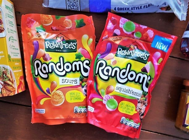 Rowntrees® Randoms® Squish'ems & Sours Sharing Bags