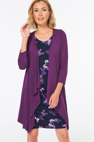 2 in 1 dress with shrug - Bonmarche
