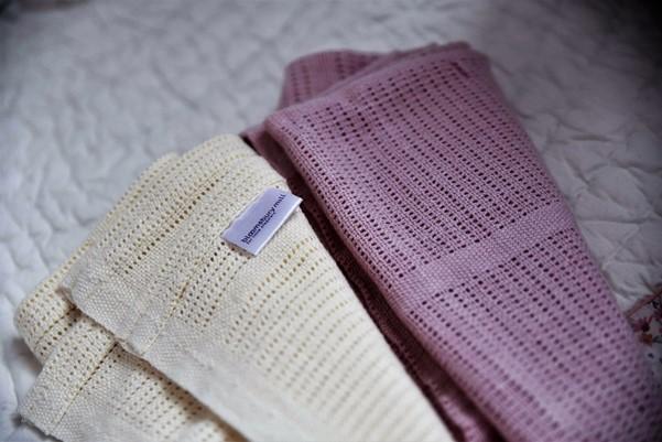 Bloomsbury Mill cellular blankets - motherhooddiaries.com