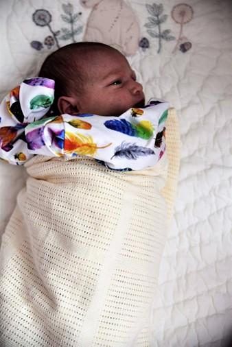 Bloomsbury Mill Cellular Blanket - motherhooddiaries.com