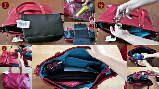 Mia Tui Berry Jennie Travel Changing Bag