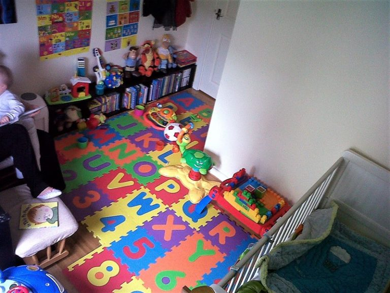 Our new nursery which was home to the boys for five years