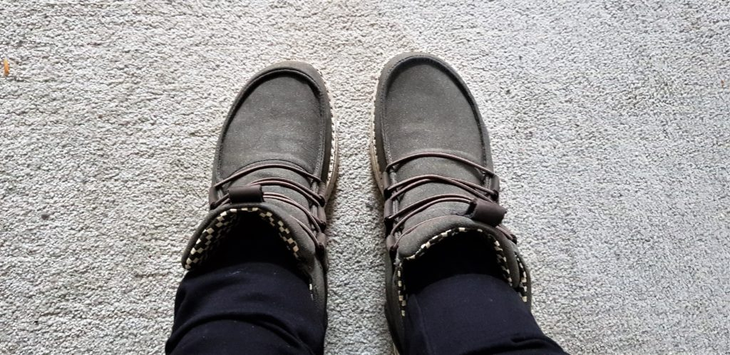 Hey Dude Lea Coffee Boots in Size 5