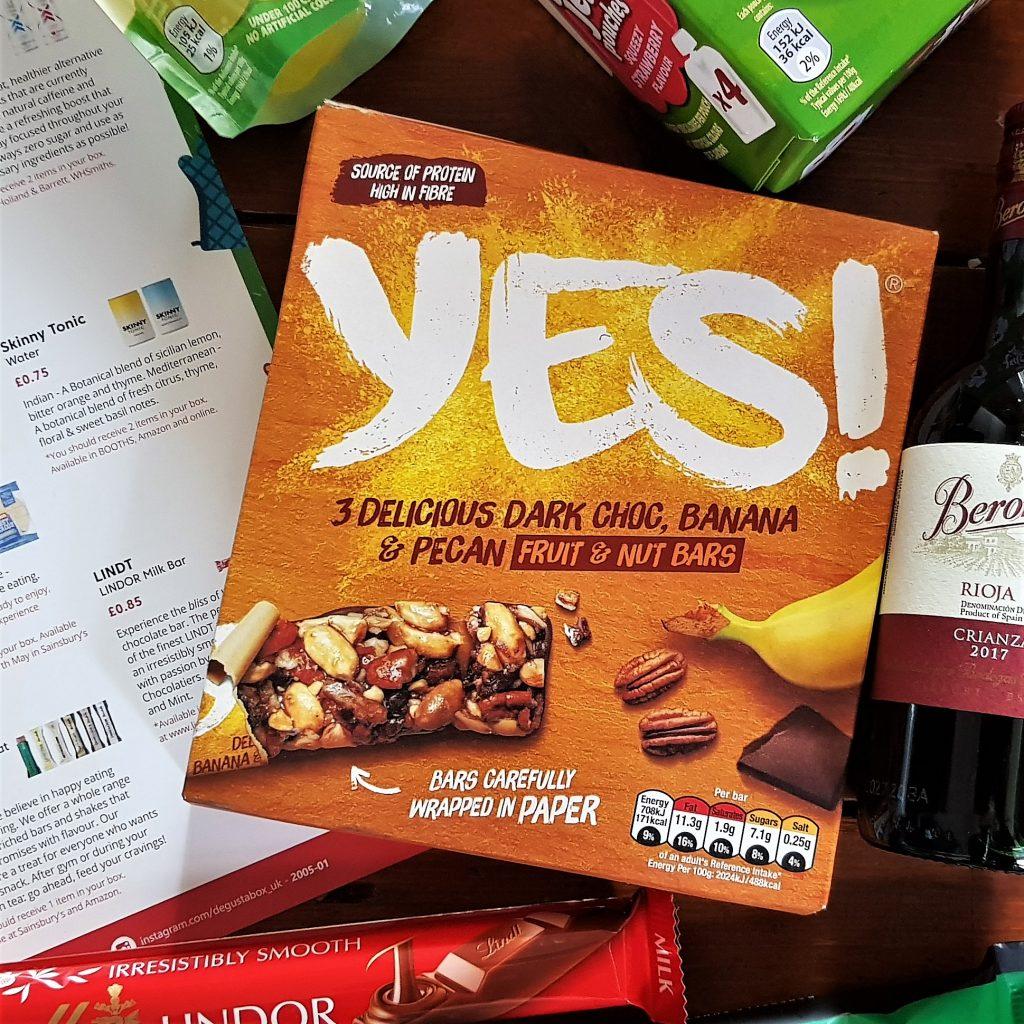 YES! Sea Salt, Dark Choc & Almond / Banana & Pecan